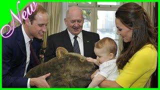 Kate Middleton hält ihr drittes Baby, Prinz Louis