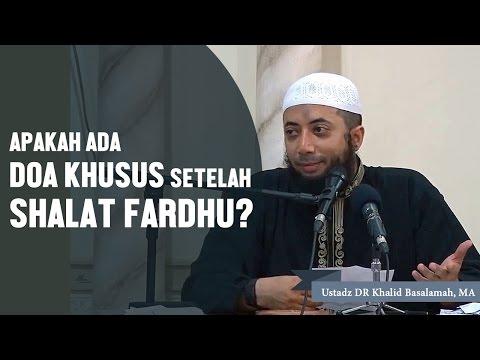Youtube doa setelah sholat fardhu