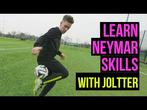 Learn Neymar Skills - Joltter Tutorial video