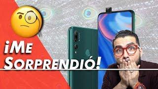 Huawei Y9 Prime 2019 Unboxing, análisis y comentarios de su cámara Pop Up | LuisGyG