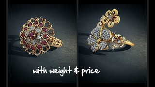 LATEST DESIGNER FLORAL GOLD RINGS BY BLUESTONE || LIFESTYLE