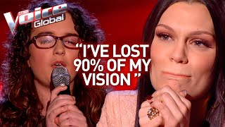 INSPIRING! Almost blind singer makes The Voice coaches tear up | Winner's Journey #25