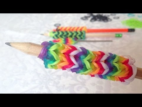 Rainbow Loom. Nederlands. Potlood-greep. Pencil grip