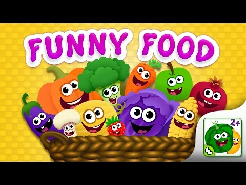 FunnyFood Kindergarten learning games for toddlers APK Cover