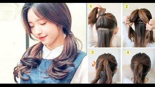 12 kiểu tóc buộc xinh xắn nhất quả đất nhưng hoàn toàn dễ làm dành riêng cho bạn gái bận rộn.