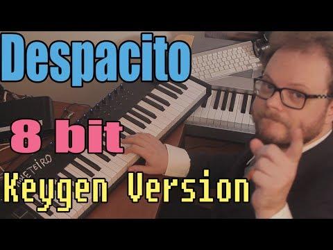 Despacito - 8 bit Version, as 80s Computer Game Music