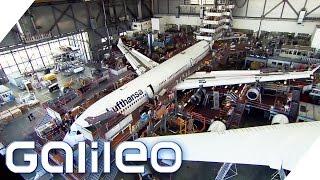 Flugsicherheit - Wie werden Flugzeuge gewartet? | Galileo | ProSieben