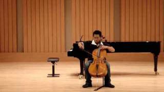 Bach - Cello Suite No.6 ii-Allemande  --  蔡寧