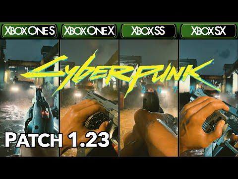 Cyberpunk 2077 [Patch 1.23] - Xbox One S|X & Xbox Series X|S - Comparison & FPS