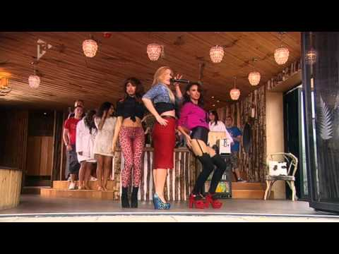 Sugababes - Freedom (Live @ Hollyoaks Music Show 10/09/2011)