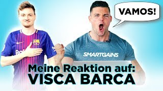 Meine Reaktion auf: VISCA BARCA TRANSFORMATION | SMARTGAINS