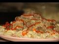 Печень по-строгановски ( Самый лучший рецепт )