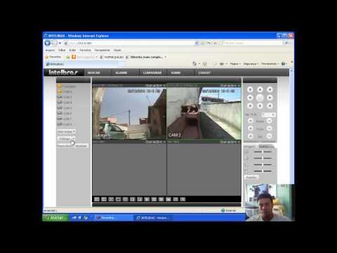 CFTV - StandAlone  Intelbras Configuração. instalação e acesso web 4 de 4