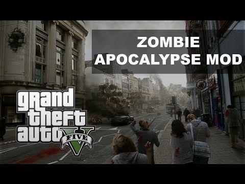 скачать мод на гта 5 на зомби апокалипсис с автоматической установкой