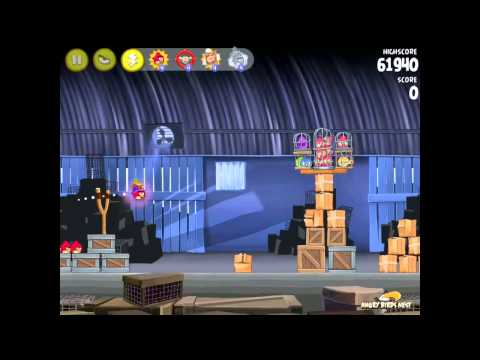 Angry Birds Rio First Look At Power-ups: Tnt Drop, Samba Burst, Sling Scope, Super Seeds video