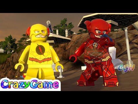 LEGO Marvel's Avengers Mod - The Flash v Reverse Flash Free Roam Gameplay | CRAZYGAMINGHUB