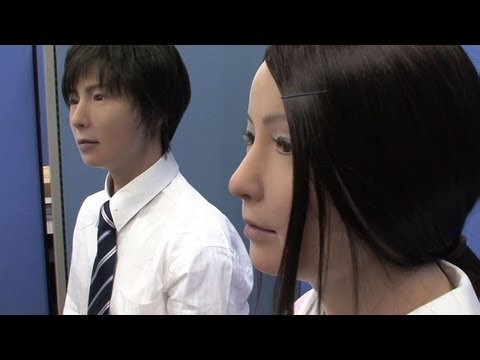 Brother and sister android robots from Japan - Actroid-F #DigInfo
