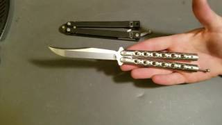Butterfly knife flipping why would you do that? part 2
