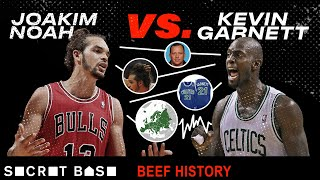 Kevin Garnett was Joakim Noah's idol ... until they had beef | Beef History