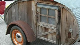 100 Tear Drop Trailers,  DIY Homemade travel trailers,   Very cool.