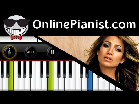 Jennifer Lopez ft. Pitbull - On The Floor (Lambada) - Piano Tutorial (Easy Version)