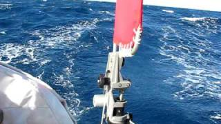 Diy-yacht-self-steering-system-wind-vane-on-cal34