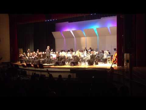 Gloucester High School Band Holiday concert - Dec. 20,  2012 (Pat-a-Pan)
