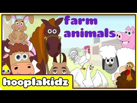 Learn About Farm Animals - Preschool Activity