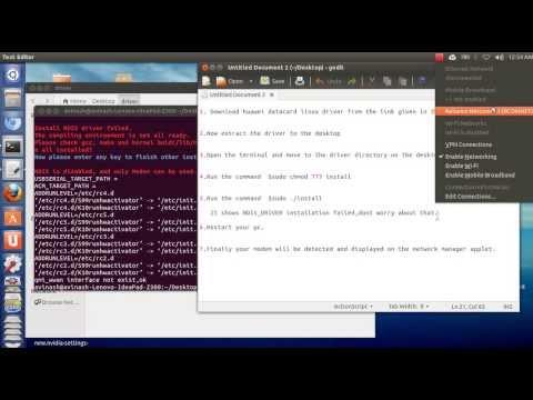 *[How To Install Any HUAWEI Modem On UBUNTU 13.04]*
