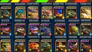 Khủng long bạo chúa chiến đấu Đặc biệt 2   22 Dino Level Max - Jurassic World The Game   DCTE