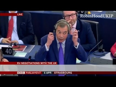 Nigel Farage says EU gangsters owe the UK billions