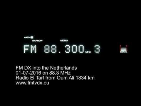 FM DX sporadic E in Holland: ALG 88.3 MHz Radio El Tarf