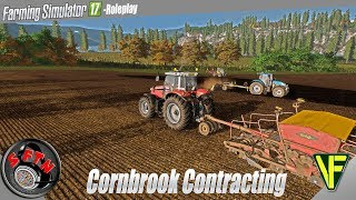 New drill test!! | Cornbrook Contracting, Episode 39 | Farming Simulator 17 Role Play