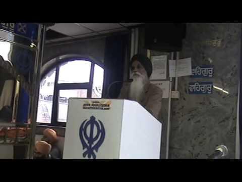 Ajmer Singh regarding Prakash S Badal