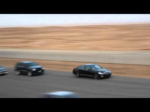 Mercedes S63 AMG VS Jeep SRT8