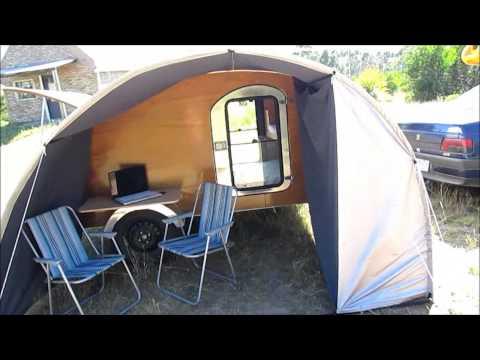 Casa Rodante Teardrop Trailer MiniCamper