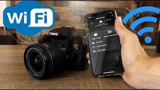 04. Canon T8i (850D) WiFi Setup and Demo