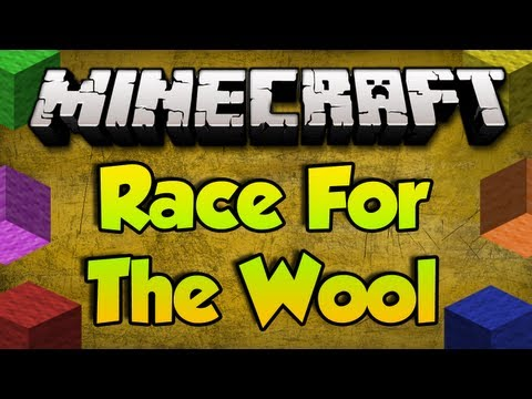 Minecraft - Race For Wool - GGGGGGGGGG!