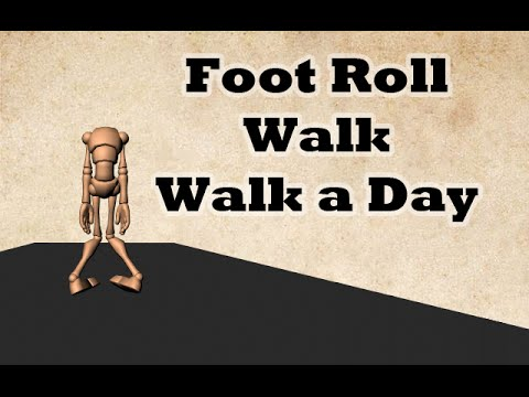 Foot Roll Walk - Walk a Day