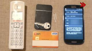 Triple/Dual SIM Bluetooth Adapter - Android iPhone iPad iPod [Unpack/Review]
