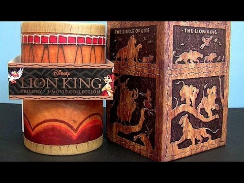 Lion King Trilogy blu ray 8-disc collection box set - YouTube