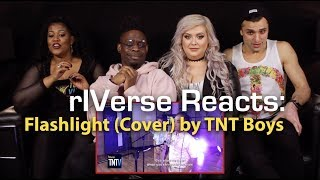 rIVerse Reacts: Flashlight by TNT Boys - Live Cover Reaction