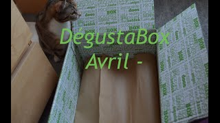 #37 - UNBOXING - DégustaBox Avril !