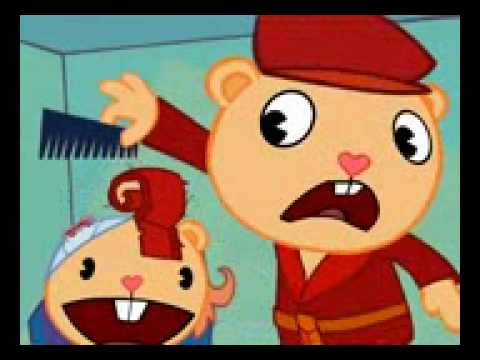 Happy tree friends : corte de cabello