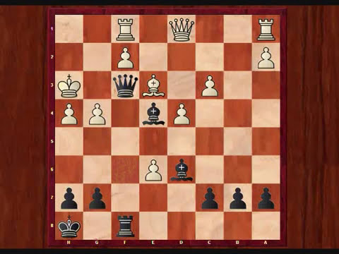 Chess Miniatures # 44 Petroff's Defense (2).wmv