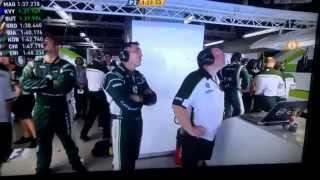 Kamui Kobayashi F1 2014 Crash FP2 Suzuka 10/3