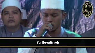 Download Lagu Az Zahir Ya Hayatirruh + Lirik Gratis STAFABAND