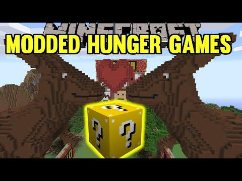 Minecraft: Kangaroo Love Modded Hunger Games - Lucky Block Mod - Modded Mini-Game