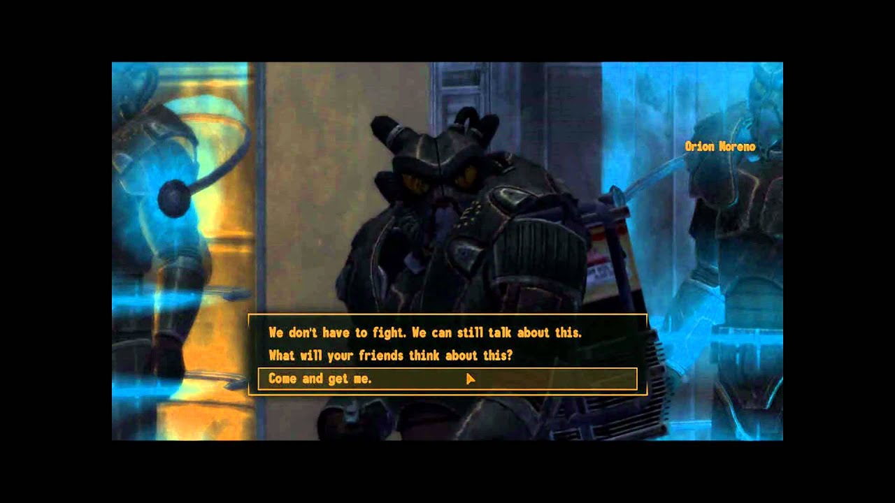 Fallout New Vegas Remnants Power Armor Amp Power Armor
