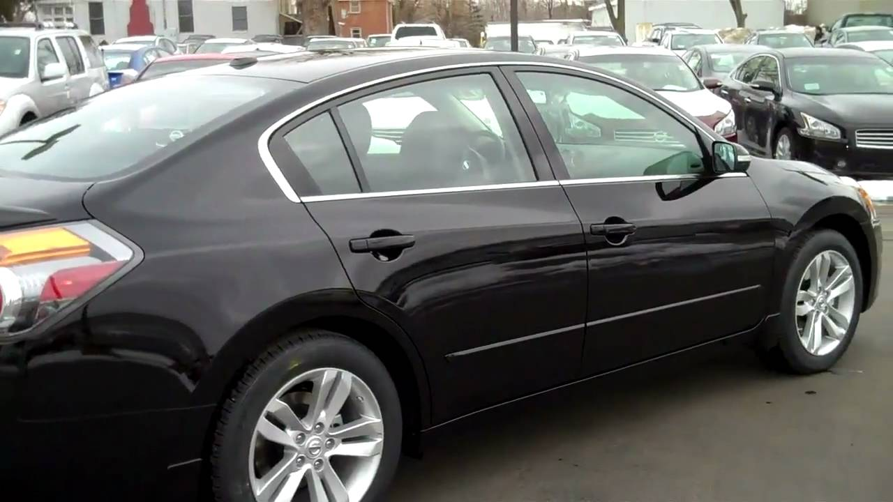 2010 Nissan Altima 3 5 Sr Sedan Video With Sport Package